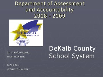 Students - Dekalb County School System