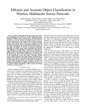 2012-ICCCN-Efficient and Accurate Object Classification in Wireless ...