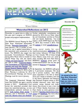 Reach Out Newsletter - December 2012 - Red Deer River ...