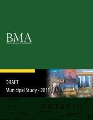 2011 Municipal Study - City of Brantford