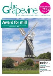 Award for mill - East Riding Council