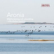 Aronia - Yrkeshögskolan Novia