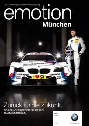 Emotion - BMW Niederlassung Bremen