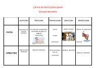 Planning Epine Guyon groupe des petits - Franconville