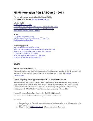 Miljöinformation från SABO nr 2-2013.pdf