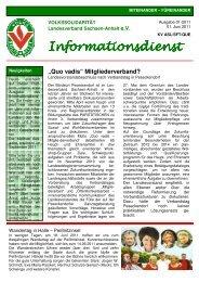 Kreisverband - Volkssolidarität Bundesverband e.V.