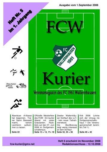 Download von Heft 2008/5 - fcw-kurier.de