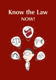 English version - Pro Bono Services Office - The Law Society of ...