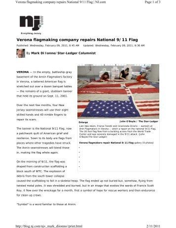 Download PDF version - Annin Flagmakers