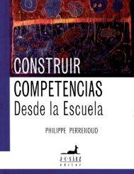 CONSTRUIR COMPETENCIAS DESDE LA ESCUELA