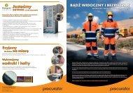 Bezpieczna praca na drodze i na budowie - Procurator