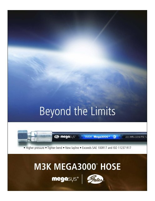 M3K Mega3000 ® Hose - Gates Corporation