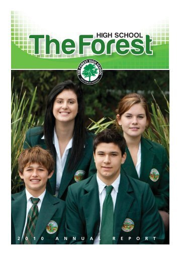 2 0 1 0 A N N U A L R E P O R T - The Forest High School