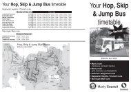 Your Hop, Skip & Jump Bus timetable - Manly Council