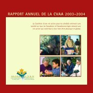 rapport annuel de la cvaa 2003-2004 - Active Living Coalition for ...