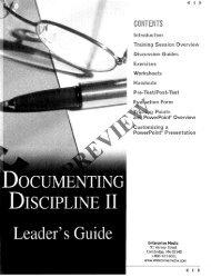 Leader's Guide - Partial Preview - Enterprise Media