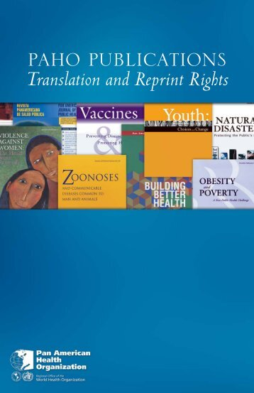 Print Layout 1 - PAHO Publications Catalog