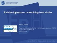 Reliable high-power red-emitting laser diodes - brighter.eu