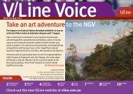 Check Out The New V/Line Website At Vline.com.au