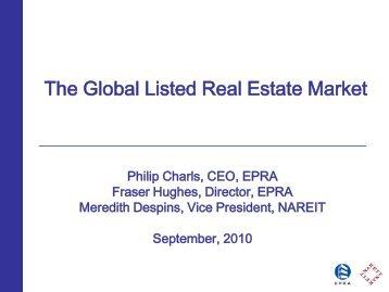 The Global Listed Real Estate Market - EPRA