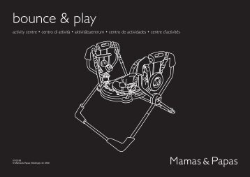 bounce & play - Mamas & Papas