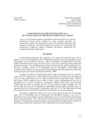 antecedents of computer self-efficacy - Library