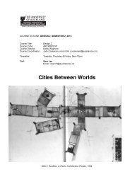 Topic Outline for Sara Lee's Design 2 Studio PDF