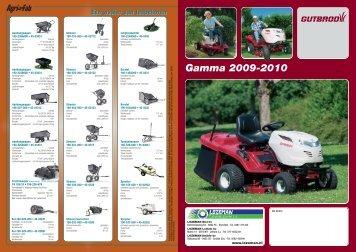 Gamma 2009-2010 - Lozeman Tuinmachines Elst B.V.