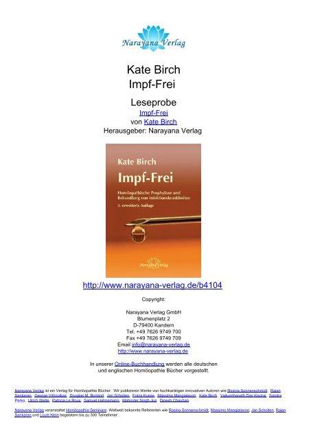 Kate Birch Impf-Frei