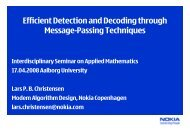Efficient Detection and Decoding through Message-Passing ...