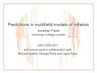 Predictions in multifield models of inflation
