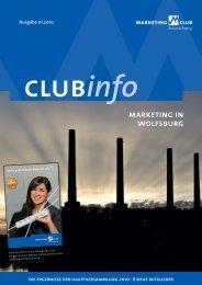 MCBS ClubInfo 01-2010 - Marketing-Club Braunschweig