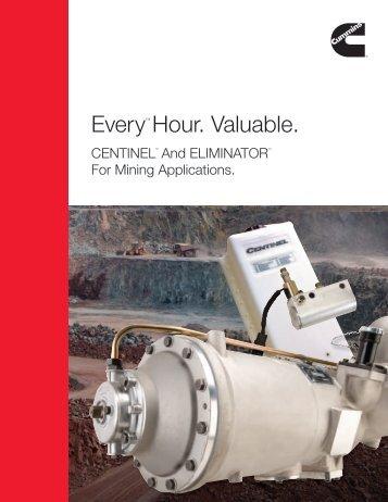 EveryTM Hour. Valuable. - Cummins Engines