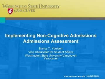 Redefining Selective Admissions, Part 2 - AACRAO