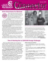 newsletter summer 2007 - North Hills Community Outreach