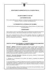 Decreto 210 - Departamento Nacional de Planeación