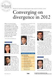 Converging on divergence in 2012 - The Asset