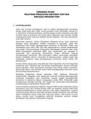 TOR Pelatihan Penguatan Substansi P2KP dan Replikasi Program ...