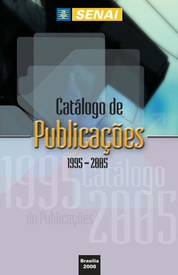 Catálogo de Publicações 1995-2005 - CNI