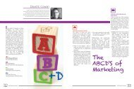 The ABCD'S of Marketing