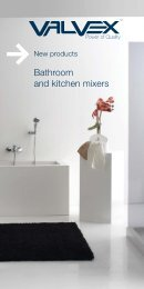 Bathroom and kitchen mixers