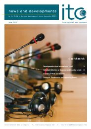 itc-newsletter June 2012 - International Tax Compact