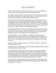 GRALISE AND HORIZANT - Essentia Daily Dose - Essentia Health