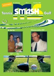 Golf Tennis - Smash