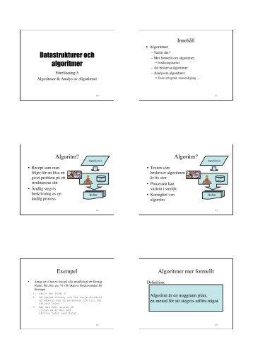 Föreläsning 5-6