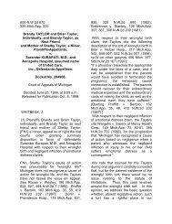 Taylor v. Kurapati, 600 NW2d 670 (Mich Appeals 1999)