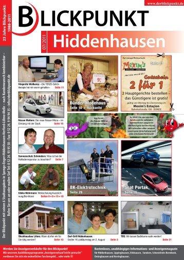 Hiddenhausen - Blickpunkt Online