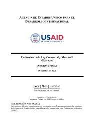 Evaluación de la Ley Comercial y Mercantil Nicaragua - Economic ...