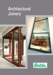 Architectural Joinery - Airlite