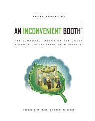 an inconvenient booth - Exhibitor Magazine